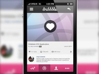 Dribbble Tap To Like (With Retina Attachment) by Joey Lomanto