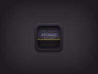 Storage icon by Kamil Khadeyev