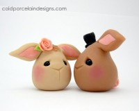 Rabbit Love - Bride and Groom by ~i-be-c