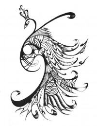 Peacock by ~Ryu-no-Mizu