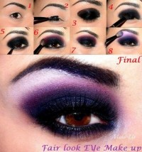 Fair look eye makeup - StyleCraze