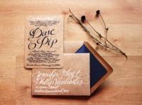 Designspiration — Wedding Woodland & Nature Themed Invitation Set by hazelwonderland