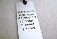 Metal Stamped Personalised Bookmark Harry Potter by MauveMagpie