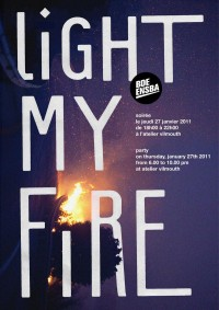 Work nº130-1 : Light My Fire - Nøne Futbol Club | Making the everyday look supernatural | Art & Design Studio, Paris