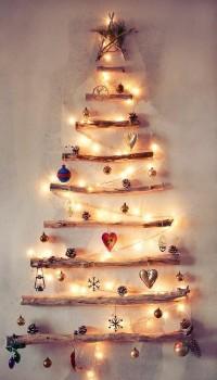 a CHRISTMAS carol / Christmas wall tree