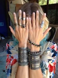 A D O R N M E N T S / hippie/bohemian/boho - Alushia Sanshia Poison Rings