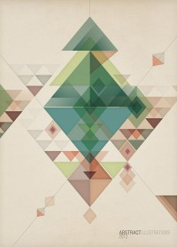 Abstract illustrations on
