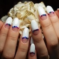 Acrylic Nail Art on