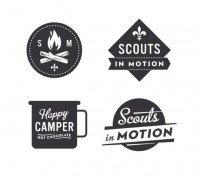 All sizes | Scout logos | Flickr - Photo Sharing! — Designspiration