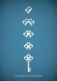 All sizes | Typowall ? The Key / nøkkelen | Flickr - Photo Sharing! — Designspiration