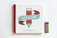 ART&FUN , book for children on