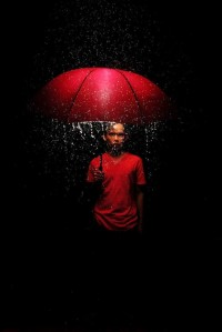 ARTISTIC WAY / Red Umbrella by ~ananamri