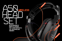 Astro A50 Wireless Headset on