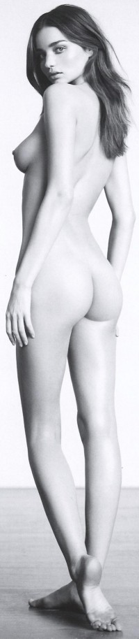 Beautiful (female) bodies / Miranda Kerr [Industrie Magazine]