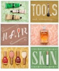 beauty newsletter - Danielle Kroll — Designspiration