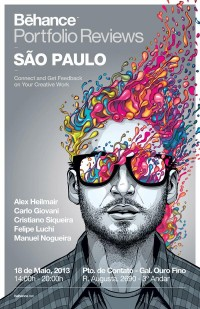 Behance Porfolio Reviews São Paulo - Poster on