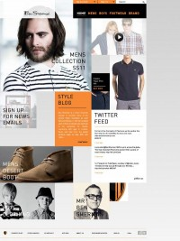 Ben Sherman David Burns | Graphic Design Portfolio — Designspiration