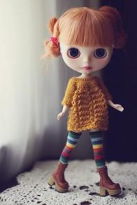 Blythe / Rainbow Socks - 143/365 ADAD 2011 | Flickr - Photo Sharing!