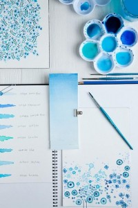 { building spectrum } / Color Me Pretty: Ocean Blues by decor8, via Flickr