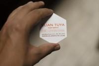 Business card de un gato on