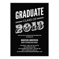 Celebration: Graduation Party / GRAD TYPE | GRADUATION PARTY INVITATION #graduation #classof2013
