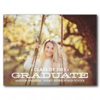 Celebration: Graduation Party / SO SIMPLE | GRADUATION INVITATION POSTCARD #fineanddandypaperie #...