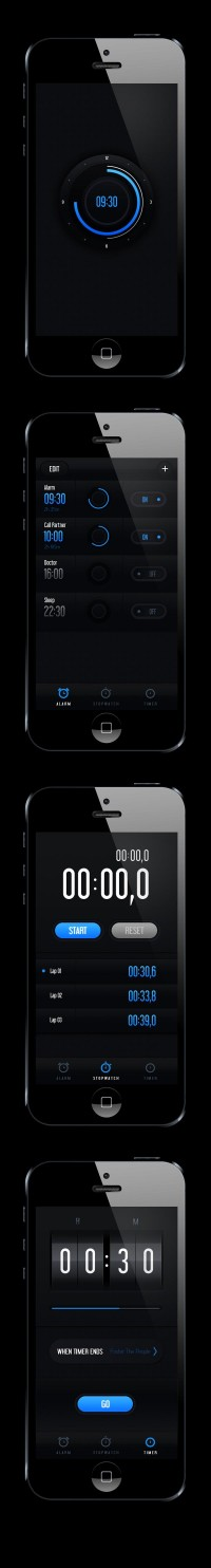 Clock Concept on