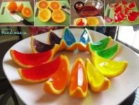 Cooking / Jello in orange