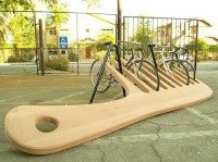 cool stuff. / bike stand.