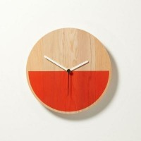 Cool Things made with Wood / Primary Clock - Minimalissimo — Designspiration