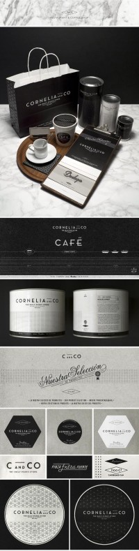 CORNELIA and CO [ Brand identity & Packaging ] on