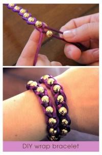 crafts, crafts, crafts / several bracelets
