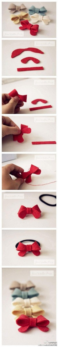 Crafty ideas / bows
