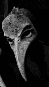 DARK ART / OakWood, wood mask