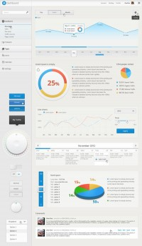Dashboard - User Interface Template on