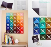Decor / Handmade Paper Picture