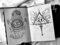 Designs that will get under your skin / Drawing book. #tattoo #tattoos #ink