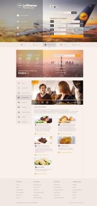 Digital / Lufthansa Concept by Erik Lindén — Designspiration