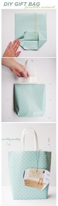 diy gift bag | Craft Ideas