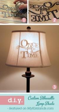 DIY / Silhouette lamp