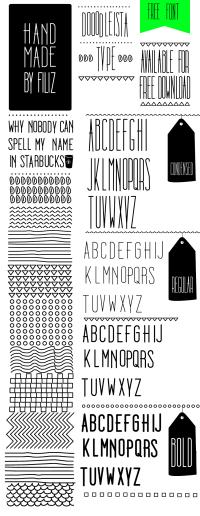 Dooodleista Type - Free Font on