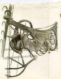 Drac / Dibuix del Drac de la Finca Güell