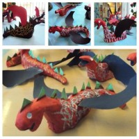 Drac / drac, Sant Jordi, fang