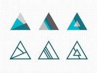 Dribbble - Tri Explorations by Mackey Saturday — Designspiration