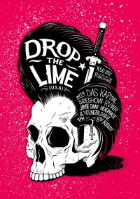 Drop The Lime Poster on