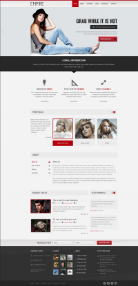 Empire - High Quality Multipurpose PSD Template on