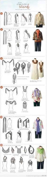Fashion / Tie a scarf