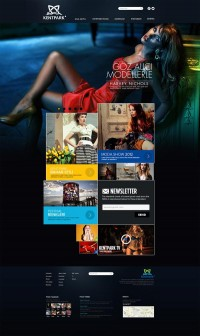 Fashion Web Design on