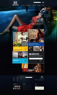 Fashion Web Design on