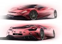 Ferrari Doodles on